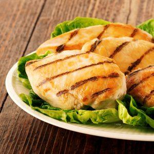 Filet de pechuga de Pollo Chica cocida y congelada