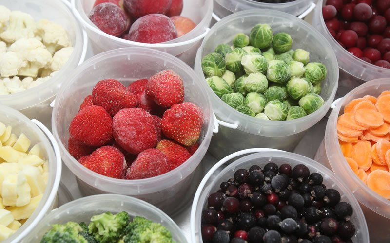 Frutas y Verduras Ultra congeladas