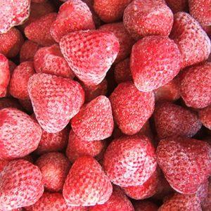 Frutillas congeladas chicas IQF Grado A