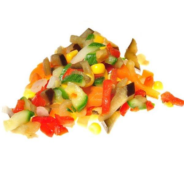 Wok de Vegetales congelados